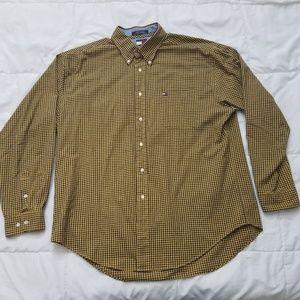Vintage Tommy Hilfiger Dress Shirt Mens XL Big Box